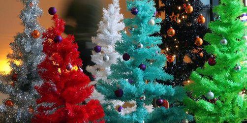 Echt jetzt, ein Weihnachtsbaum aus Plastik?