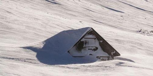 Wetterdienst: Schneemenge war nicht «außergewöhnlich»