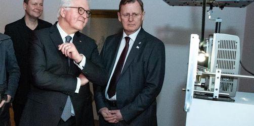 Steinmeier eröffnet Bauhaus-Jubiläumsjahr