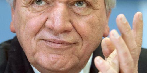 Hessens Ministerpräsident Bouffier steht zur Wiederwahl