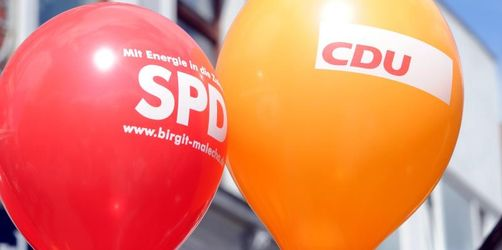 SPD gewinnt dazu, große Koalition wieder mit Mehrheit