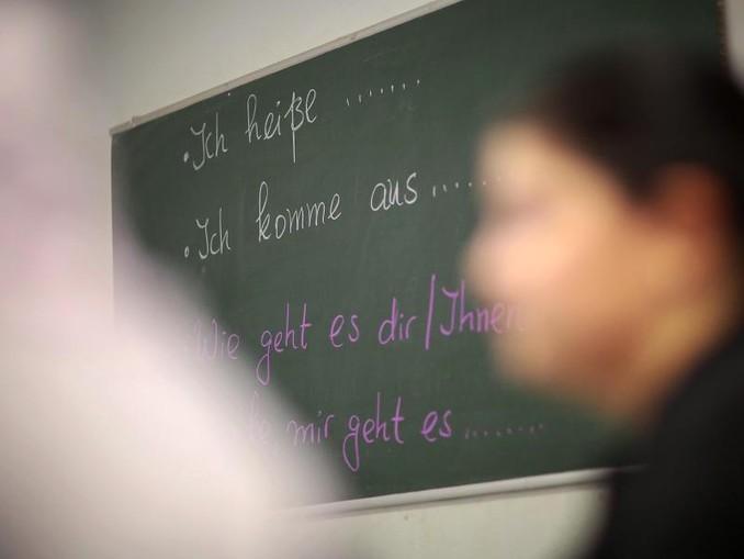 Die im Jahr 2005 eingeführten Integrationskurse bestehen aus einem Deutschkurs und einem «Orientierungskurs» zur Rechts- und Gesellschaftsordnung. /Archiv