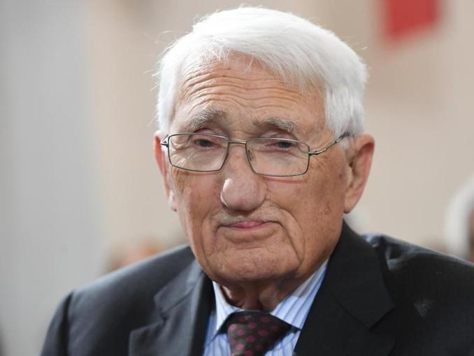 Jürgen Habermas gilt als der derzeit bedeutendste Philosoph Deutschlands. Foto:Arne Dedert