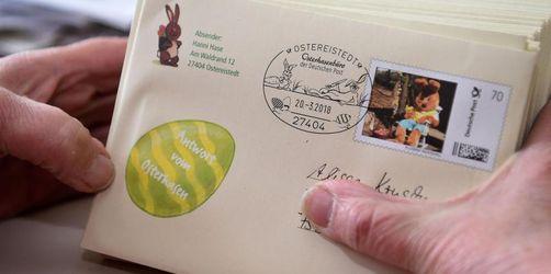 40.560 Kinder schrieben an den Osterhasen