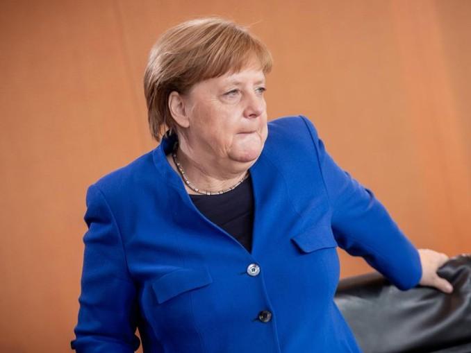 Eine Zukunft auf einem EU-Posten? Bundeskanzlerin Angela Merkel im Kanzleramt.