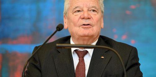 Gauck wirbt für mehr «Toleranz in Richtung rechts»