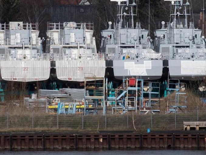 Die von dem seit 2018 andauernden Exportstopp betroffene Wolgaster Werft kann die für Saudi-Arabien bestimmten Patrouillenboote weiterhin nicht ausliefern.