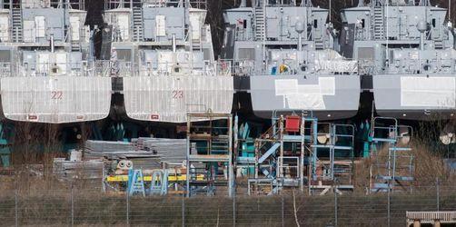 Einbruch im Rüstungsexport - Regierung sieht sich bestätigt