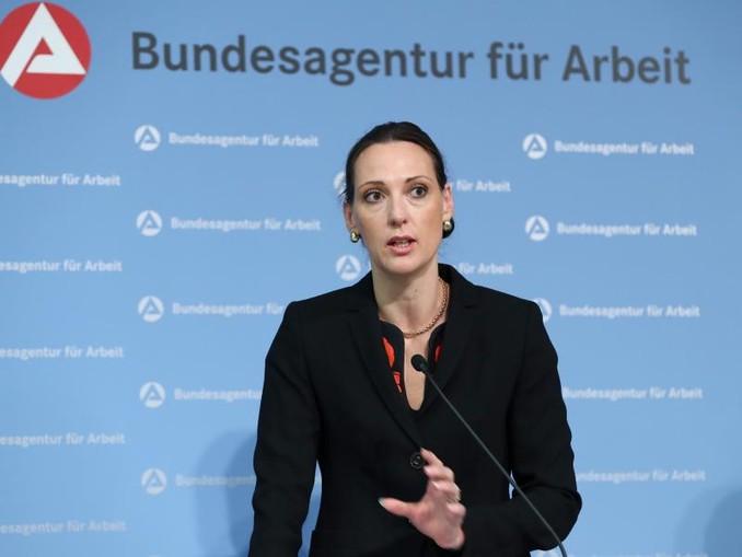 Valerie Holsboer, Vorstandsmitglied der Bundesagentur für Arbeit, muss vorzeitig gehen.