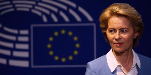 «Volle Kraft für Europa»: Von der Leyen gibt Ministeramt ab