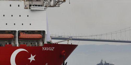 Erdgasbohrungen: EU beschließt Strafmaßnahmen gegen Türkei