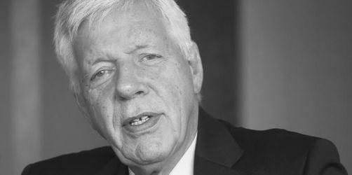 Ex-Wirtschaftsminister Werner Müller gestorben