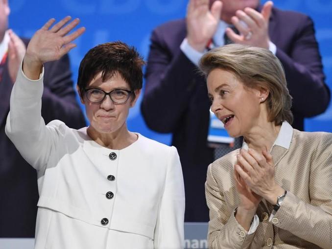 Annegret Kramp-Karrenbauer - Bundesvorsitzende der CDU und bald auch Verteidigungsministerin.