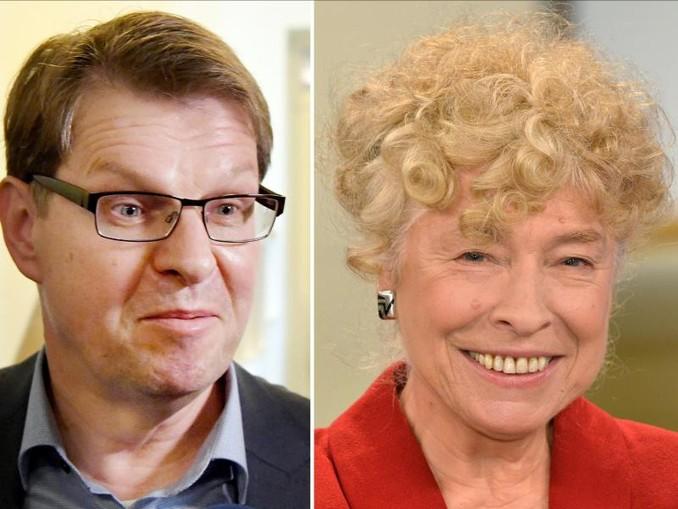 Im Rennen um den künftigen SPD-Vorsitz wollen sich die Vorsitzende der SPD-Grundwertekommission, Gesine Schwan, und Parteivize Ralf Stegner als Duo bewerben.