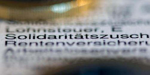 Kabinett beschließt Scholz' Soli-Pläne