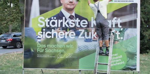 Starke Bewegung in der Wählergunst vor Ost-Landtagswahlen