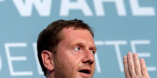 Kretschmer begrüßt Maaßens Rückzug aus Sachsen-Wahlkampf