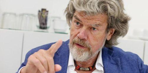 Reinhold Messner plädiert für Verzicht