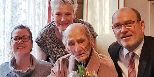 Wohl ältester Deutscher feiert 114. Geburtstag