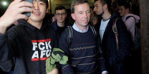 Uni Hamburg: Proteste verhindern Vorlesung von Bernd Lucke