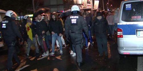 Neun Verletzte bei Kurden-Demos in NRW
