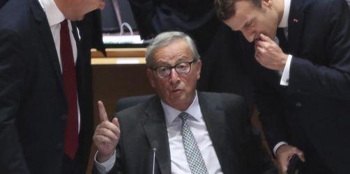 Juncker geht verbittert: «Historischer Fehler» im Westbalkan
