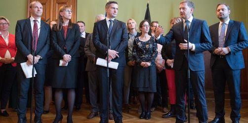 Sachsen: CDU, Grüne und SPD starten Koalitionsverhandlungen