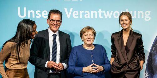 Merkel und Müller treten für Schutz der Lebensgrundlagen ein
