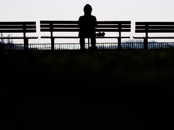 Einsamkeit ist ein großes gesellschaftliches Problem. /dpa
