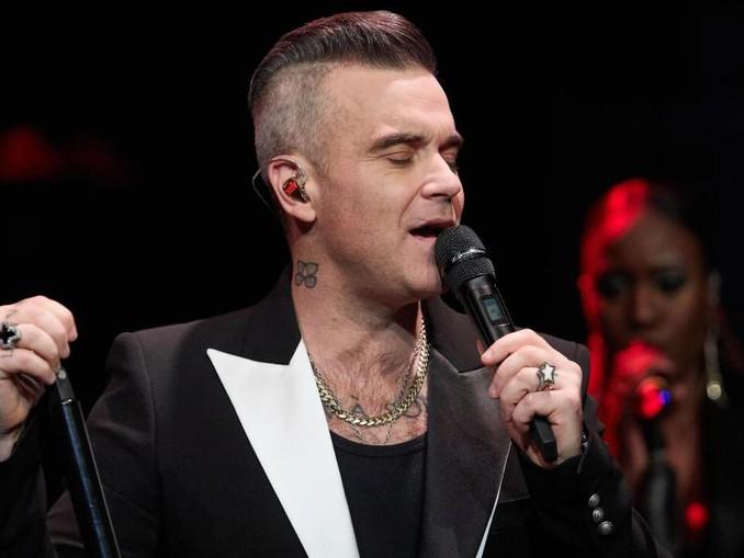 Robbie Williams hofft, dass sein Weihnachts-Album ein riesen Erfolg wird. /dpa