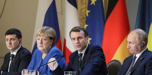 Macron sieht Fortschritte nach Ukraine-Gipfel in Paris