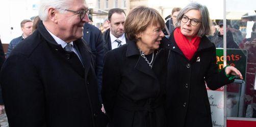 Steinmeier trifft angefeindete Bürgermeisterin von Pulsnitz