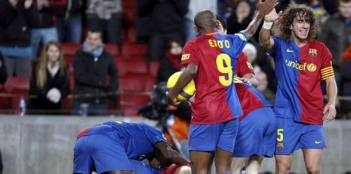 «Barça» bleibt in Spanien auf Titelkurs