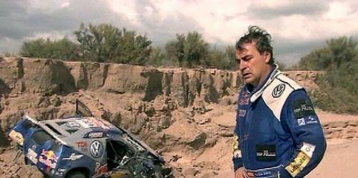 Rallye Dakar: Aus für Sainz - von Zitzewitz vorn