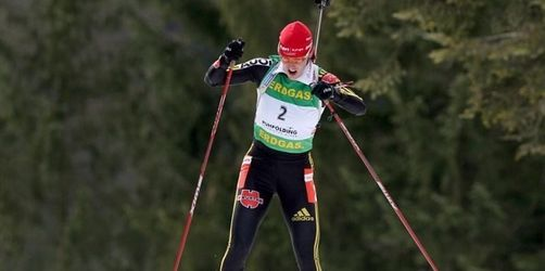Kati Wilhelm Dritte in Antholz - Tora Berger siegt