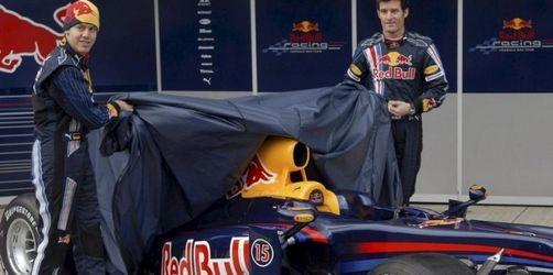 Vettel enthüllt neuen Rennwagen von Red Bull