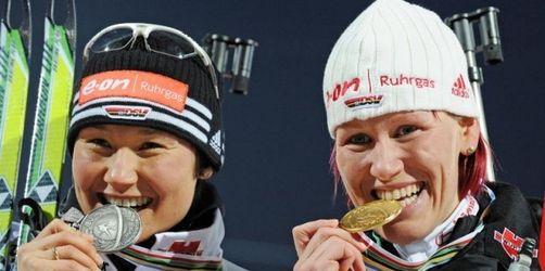 Traumstart für Skijägerinnen: Wilhelm vor Hauswald
