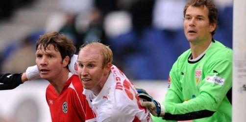 VfB reicht 2:0-Führung nicht: 3:3 in Hannover
