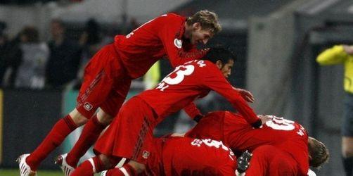 Bayern im Pokal entzaubert - HSV hat Double-Chance