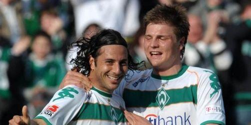 Bayern blamiert, Wolfsburg obenauf - Werder 4:1