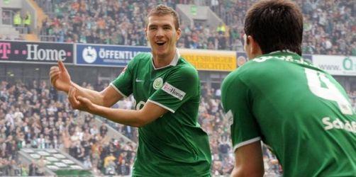 Serie hält an: In Wolfsburg reifen Titelträume