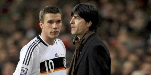 Löw warnt Podolski - Klare Absage an Lehmann