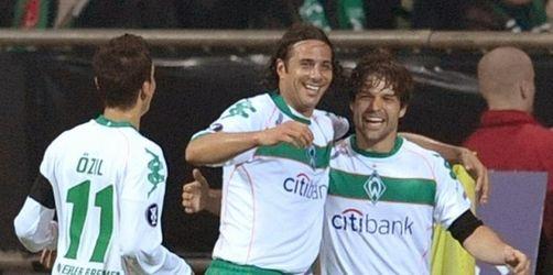 Werder dank Diego gegen Udinese auf Halbfinal-Kurs