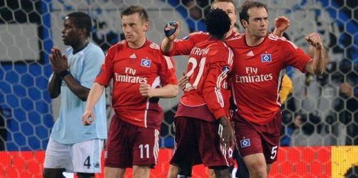 HSV darf vom Halbfinale träumen: 3:1 gegen ManCity