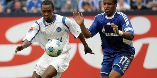 Schalke nach Sieg gegen KSC auf Europa-Kurs