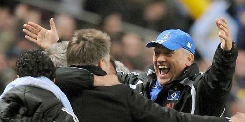 HSV-Trainer Jol ohne Triple-Träume