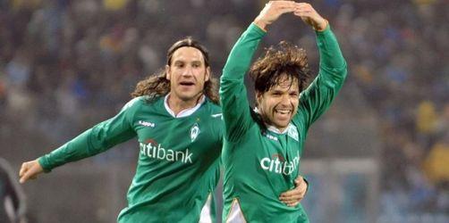 «Diego fantastico» lässt Werder weiter träumen