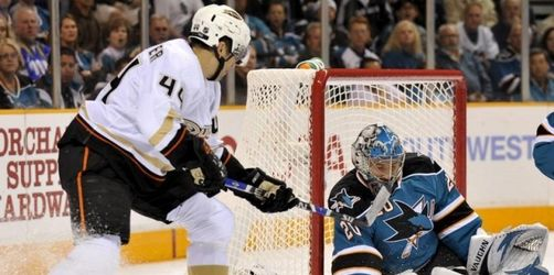 San Jose verliert erstes NHL-Playoff-Spiel 0:2