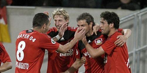 Bayer im Finale: 4:1 nach Verlängerung gegen Mainz