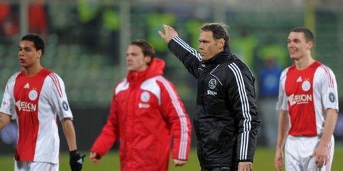 Van Basten als Ajax-Coach zurückgetreten